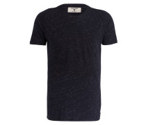T-Shirt - dunkelblau meliert