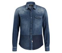 Jeanshemd Regular-Fit - dk blue