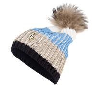 Mütze BINGO mit Fellbommel