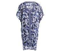 Kaftan SECRET GARDEN - navy/ weiss