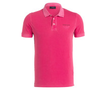 Piqué-Poloshirt Slim-Fit - pink