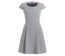Kleid KARAINA - schwarz/ weiss