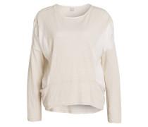 Sweatshirt - beige meliert