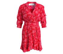 Kleid CORAZON - rot/ creme