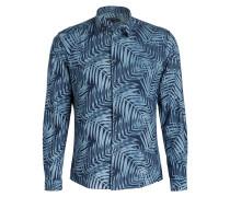 Hemd RUBEN Slim-Fit - dunkelblau/ blau