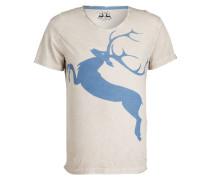 T-Shirt - hellgrau/ hellblau