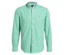 Oxford-Hemd GINGHAM Modern-Fit - gelb