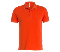 Piqué-Poloshirt - orange