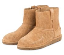 Boots CLASSIC UNLINED MINI - tawny