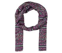 Schal - rosa/ grün