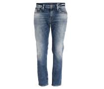 Jeans MARCUS Slim Straight-Fit - blau