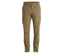 Cargohose Regular-Fit - oliv