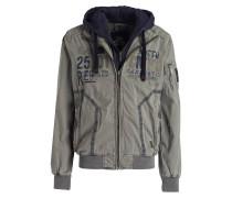 Jacke mit herausnehmbarer Blende - khaki