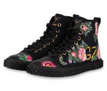 Hightop-Sneaker BLABBER - SCHWARZ