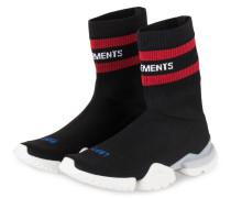 Hightop-Sneaker - schwarz