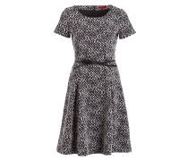Kleid DARITA - navy/ weiss
