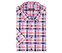 Halbarm-Hemd Modern-Fit - rosa