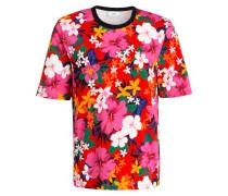 T-Shirt - rot/ pink/ grün