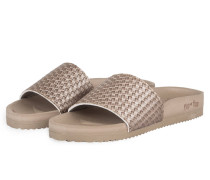 Sandalen POOL BRAID - taupe