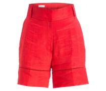 Leinen-Shorts TELLINO - rot