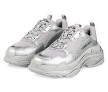 Sneaker TRIPLE S - SILBER