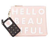 Kosmetiktasche HELLO BEAUTIFUL - rosa