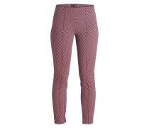 7/8-Hose - pink/ schwarz