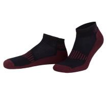 2er-Pack Sneakersocken - navy/ dunkelrot