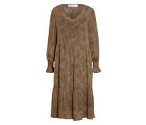 Kleid OPHELIE mit Rüschenbesatz