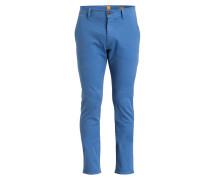 Chino SCHINO-SLENDER Slim-Fit - blau