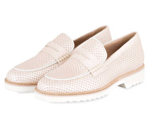 Plateau-Loafer - rosa