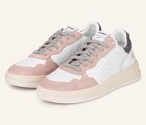 Plateau-Sneaker HYPER - WEISS/ ROSA