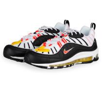 Sneaker AIR MAX 98 - WEISS/ SCHWARZ/ GELB