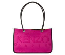 Shopper - pink/ orange/ schwarz