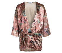 Kimono - rose/ grün/ beige