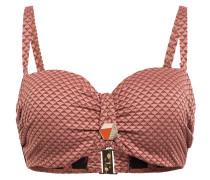 Bandeau-Bikini-Top SPARKLESS ROSE