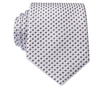 Krawatte - silber/ hellblau