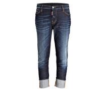 Jeans LONDON HIGH WAIST - blau