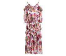 Off-Shoulder-Kleid mit Volants