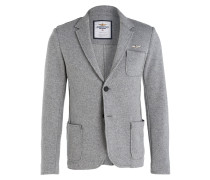 Wollsakko ITALIO VIVO Slim-Fit - grau