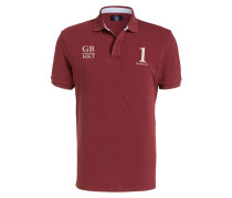 Piqué-Poloshirt Classic-Fit - burgunder