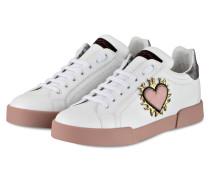 Sneaker - weiss/ rosa