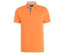 Piqué-Poloshirt Slim-Fit - orange