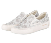 Slip-on-Sneaker GIULIA - grau/ weiss