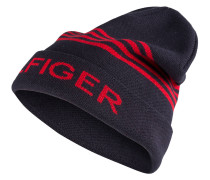 Mütze - navy/ rot
