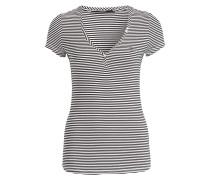 T-Shirt SERAFINO - schwarz/ weiss