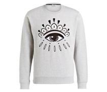 Sweatshirt EYE - grau meliert