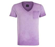 T-Shirt J-DEAN-V - flieder meliert