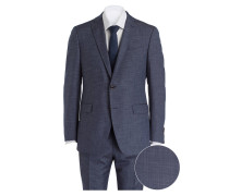 Anzug TAILOR2 Shaped-Fit - navy meliert