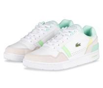Sneaker T-CLIP - WEISS/ BEIGE/ HELLGRÜN